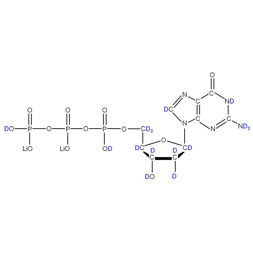 2H-labeled dGTP