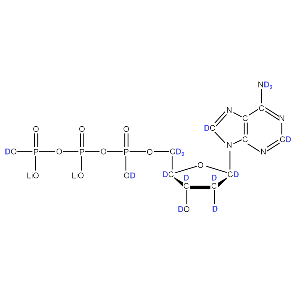 2H-labeled dATP