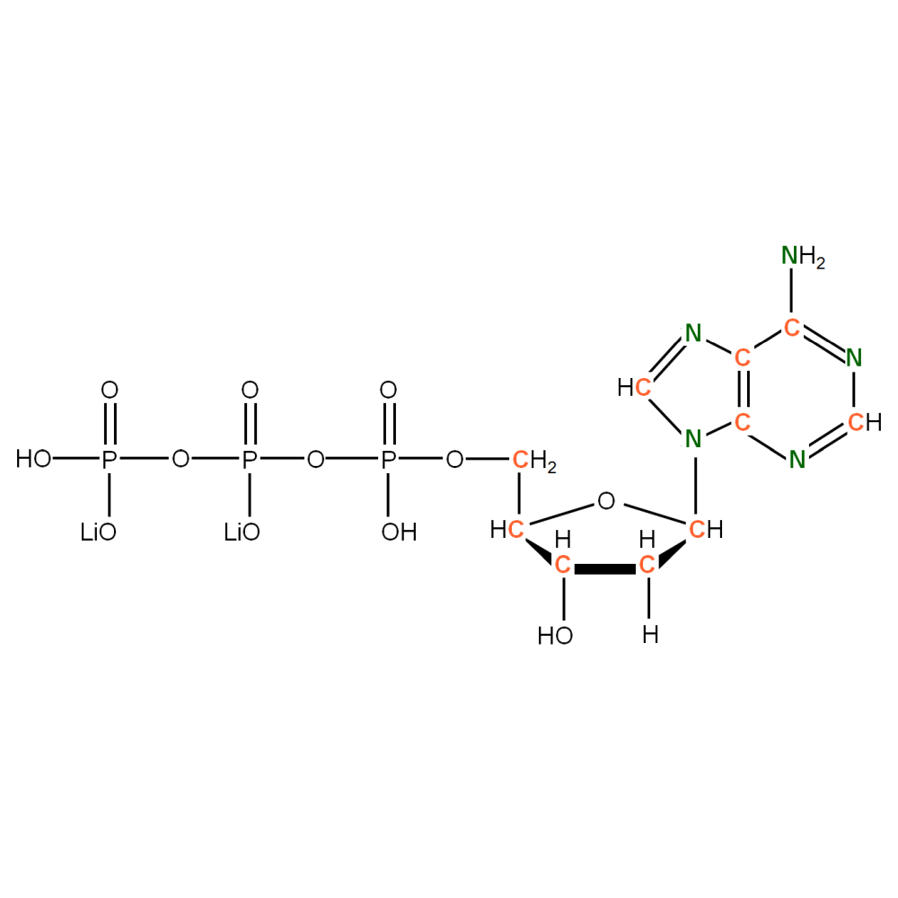 13C15N-labeled dATP