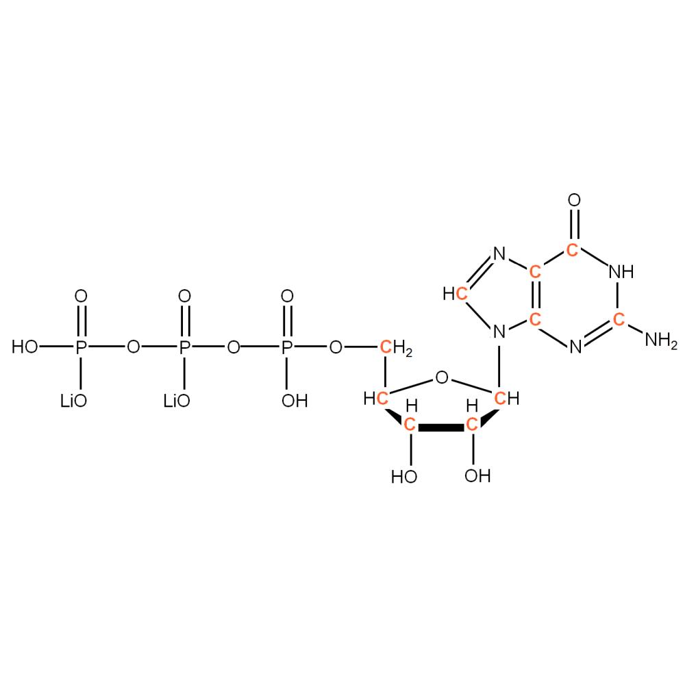 13C-labeled rGTP