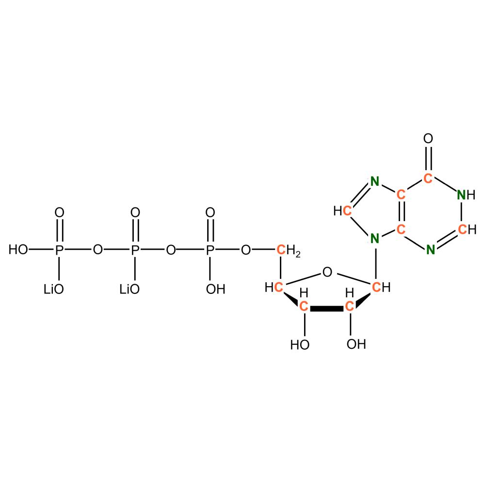 13C15N-labeled rITP