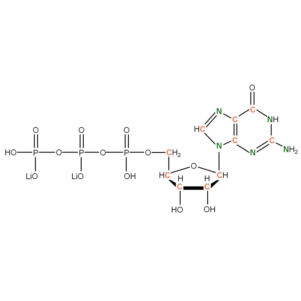13C15N-labeled rGTP