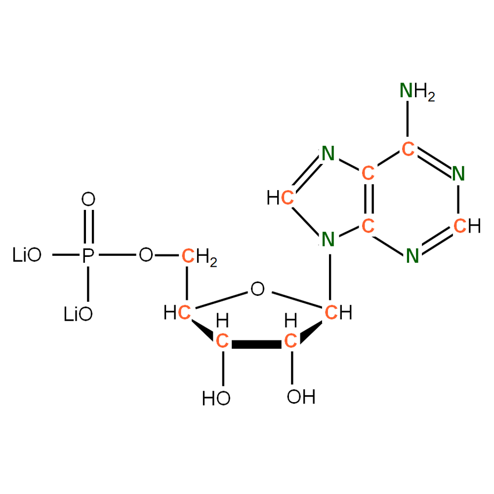 13C15N-labeled rAMP