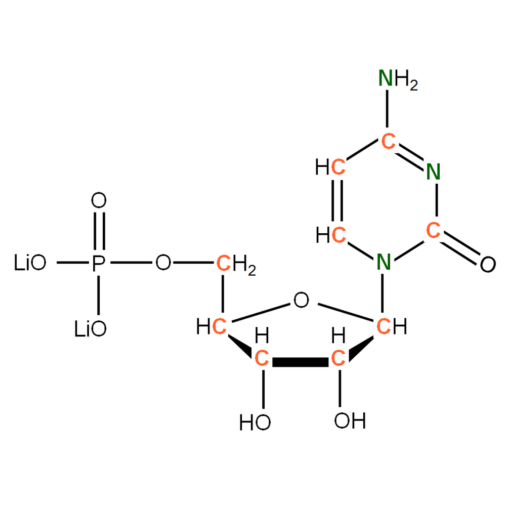 13C15N-labeled rCMP