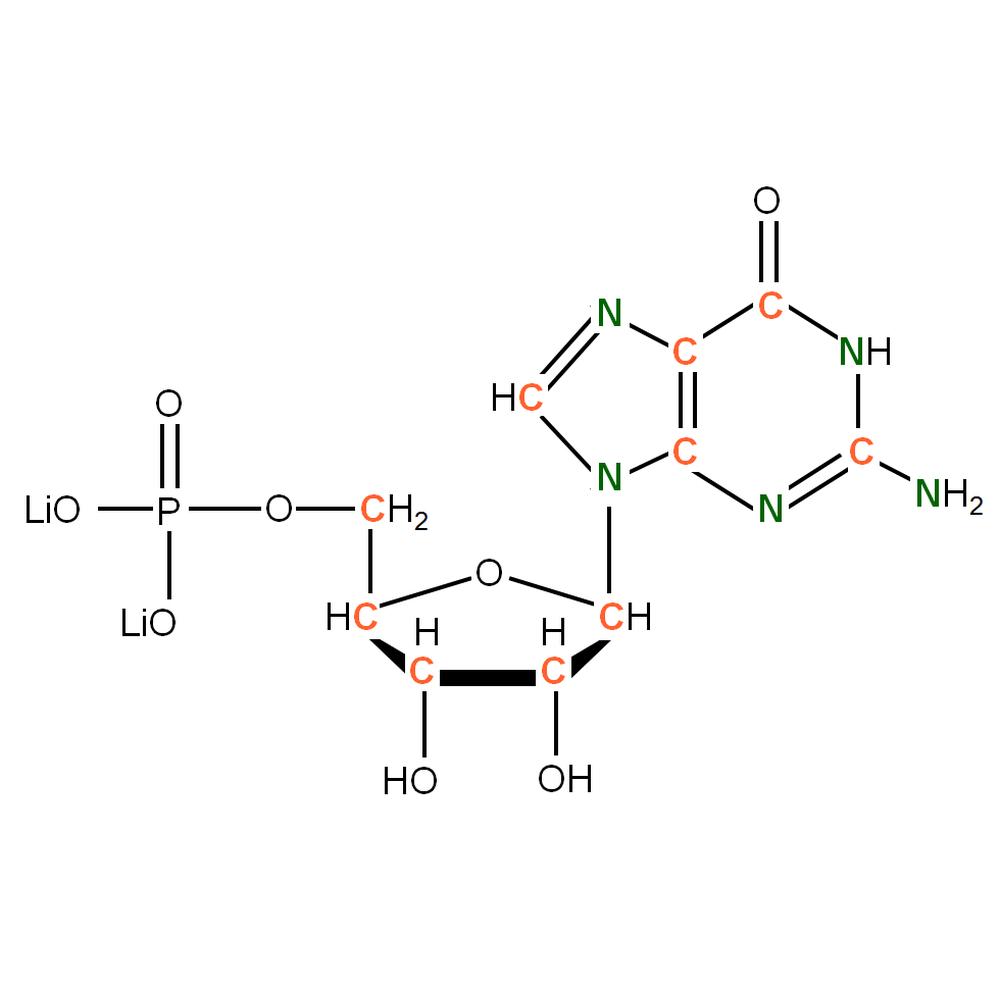 13C15N-labeled rGMP