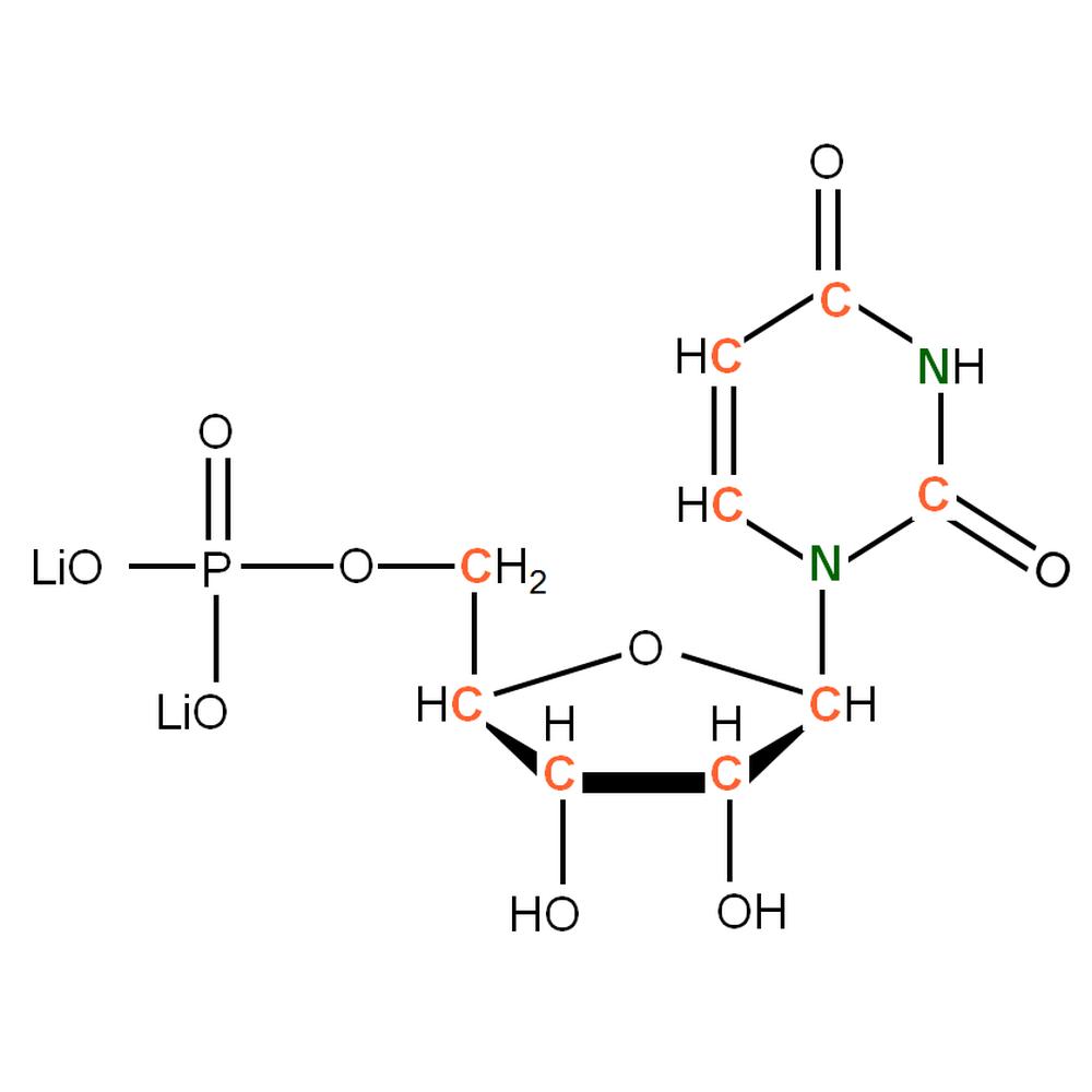 13C15N-labeled rUMP