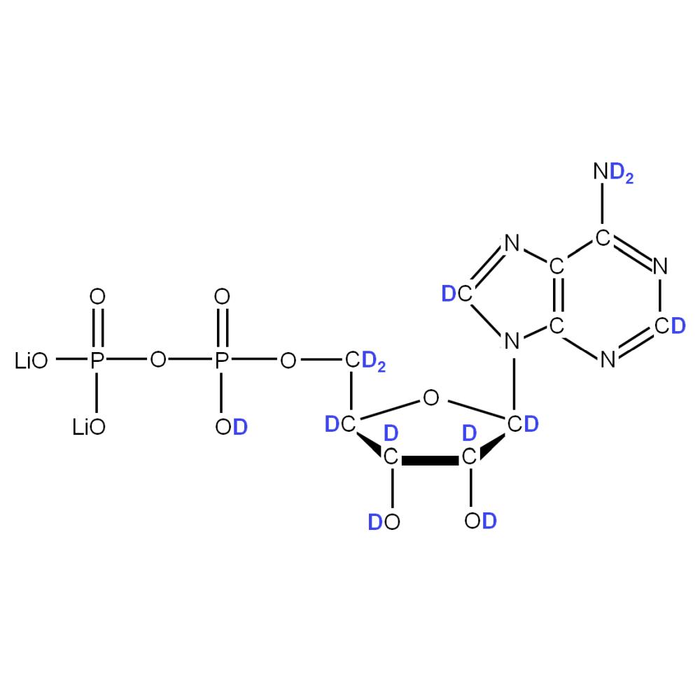 2H-labeled rADP