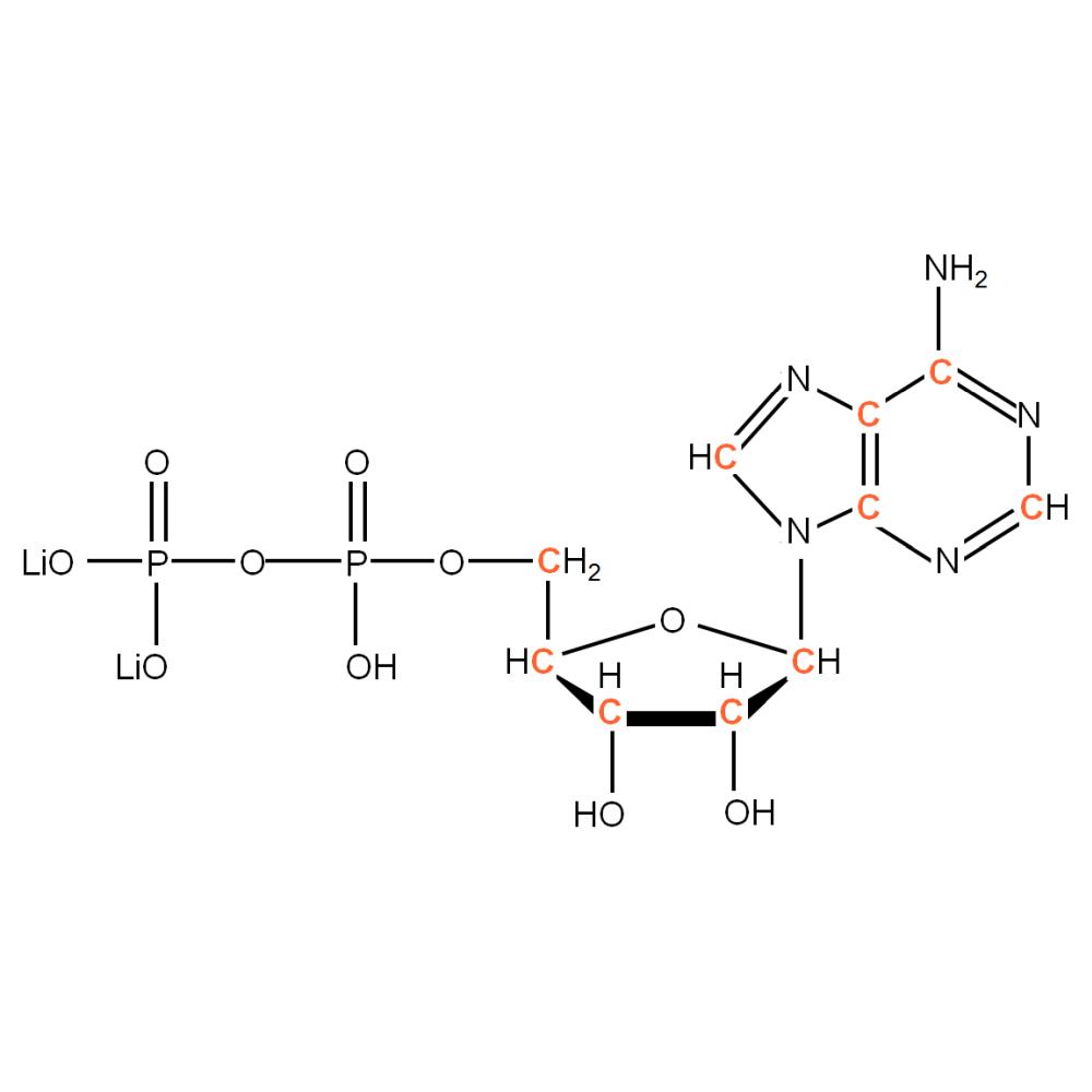 13C-labeled rADP