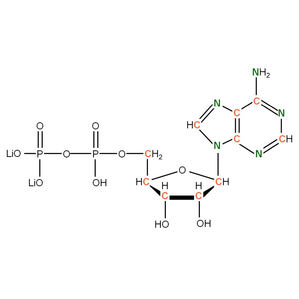 13C15N-labeled rADP