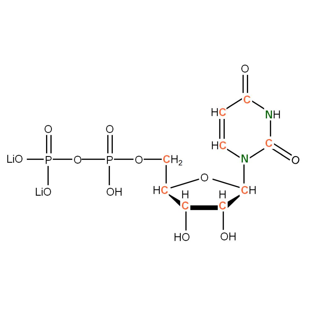 13C15N-labeled rUDP