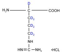 2H-labeled L-Arginine HCl