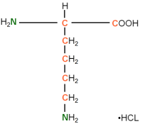 13C15N-labeled L-Lysine  HCl